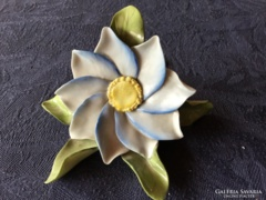 Gyönyörű herendi porcelán antik rózsa
