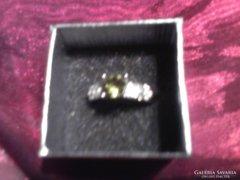 Csodás zöld köves gyűrű