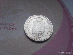 Ezüst 1 Forint 1881