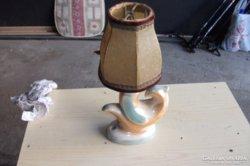 Antik halacskás asztali lámpa eladó!