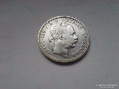 1886 ezüst 1 Florin ritkább évszám