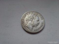 1885 patina,szép db ezüst 1 Florin ritkább