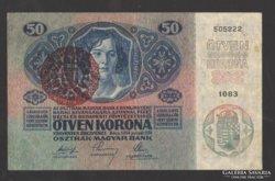 50 korona 1914.  Magyarország f.b.!!! GYÖNYÖRŰ !!!  RITKA!!!