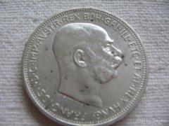 Extra szép Ferenc József 1 Korona 1912