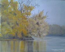 Mártélyi ősz- tájkép
