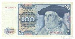 100 márka 1960 Németország