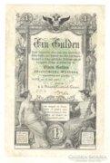 Egy forint / gulden 1866. II.