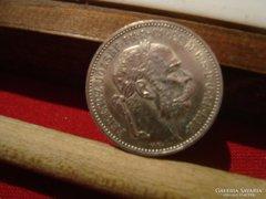 1895-as 1 korona AUNC!!!