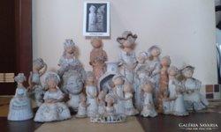 Győrbíró Enikő kerámia szobor gyűjtemény