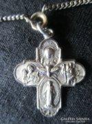 BAROKK nyakék ezüst Római Katolikus A NÉGY ÚT