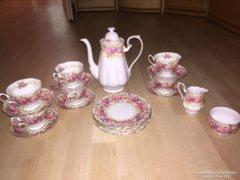 Elbűvölően gyönyörű 6 szem.Angol Royal Albert porcelán teás