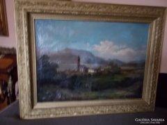 Telepi Károly  festménye