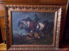 Harangy Jenő festménye