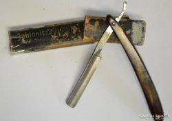 Antik Jablonitzky borotva, solingen márkájú éles pengével