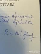 Ratkó József dedikált könyvgyűjtemény darabja