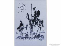 0E281 Picasso számozott múzeumi másolat