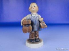 0E548 Antik Hummel porcelán suszter kisfiú TMK 3