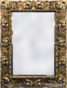 0F218 Antik hatalmas florentin tükör 135 x 170 cm