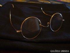 John Lennon , aranyozott szemüveg, angol termék