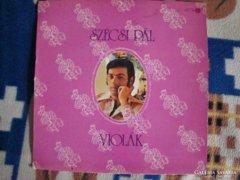 Szécsi Pál- Violák LP bakelit lemez