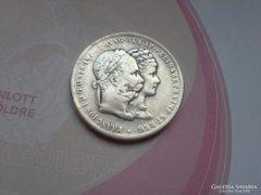 Ezüst házassági 2 forint Ritka!!!!