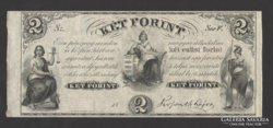 2  forint 1852.  RITKA !!! UNC !!!