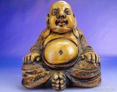 0E126 Keleti ülő Buddha kő szobor