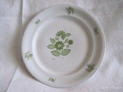 Hollóházi porcelán sütemény kínáló tányér 24 cm