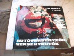 Autóversenyzők, versenyautó 1975-ös kiadás!