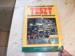A járművezetési vizsga teszt kérdései eladó!