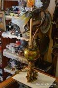 Zsolnay eozin betétes asztali lámpa