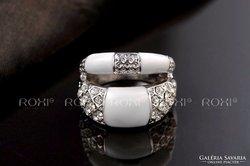 Kézzel készített divatos gyűrű 6-os méret ÚJ!