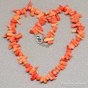 Valódi narancssárga korall nyakék