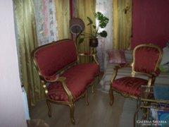 Barokk ülőgarnitúra eladó