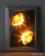 Dekoratív fali lámpa 3 (kagyló)
