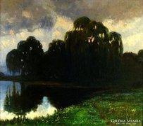 Gampert, Otto (1842-1924)-nak tulajdonítva : Folyó