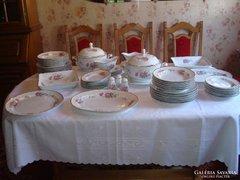 Hollóházi 12 személyes étkészlet