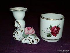 Német porcelán dísztárgyak