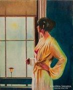 Reggel...28x36 cm  Festmény