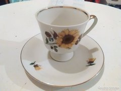 Bavaria Vohenstrauss kávés csésze kistányéral