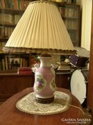 Nagyon szép cseh porcelán lámpa