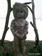Régi bronz figura