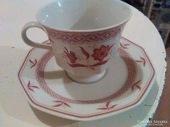 Bavaria Marktleutlen Vinterling kávés csésze kistányérral