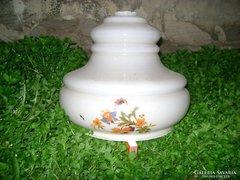Régi tejüveg lámpabura