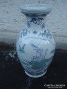 Kékkel festett kínai váza