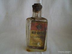 LARDOLINE műszerolajos üveg