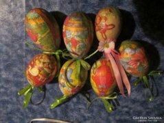 Húsvéti dekoráció 7 db tojás