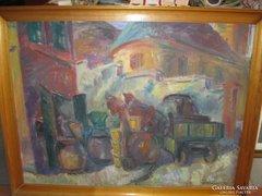 Tenkács Tibor szép festménye eladó