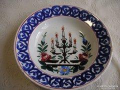 Apátfalvi  fali tányér 23cm