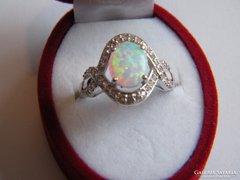Valódi Ausztrál Opál gyűrű,925 ös ezüst